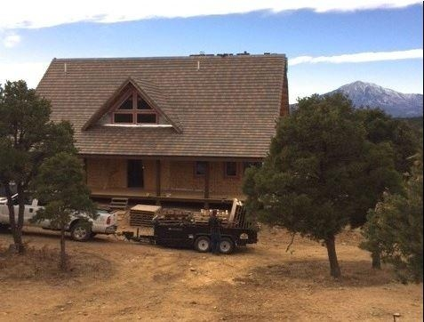 Roofing an A-Frame House