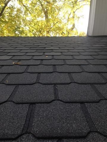 Staggered Berkshire Shingles in Broadmoor