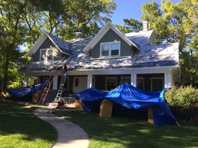 Reroofing Job in Broadmoor