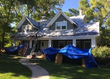 Reroofing Job in Broadmoor