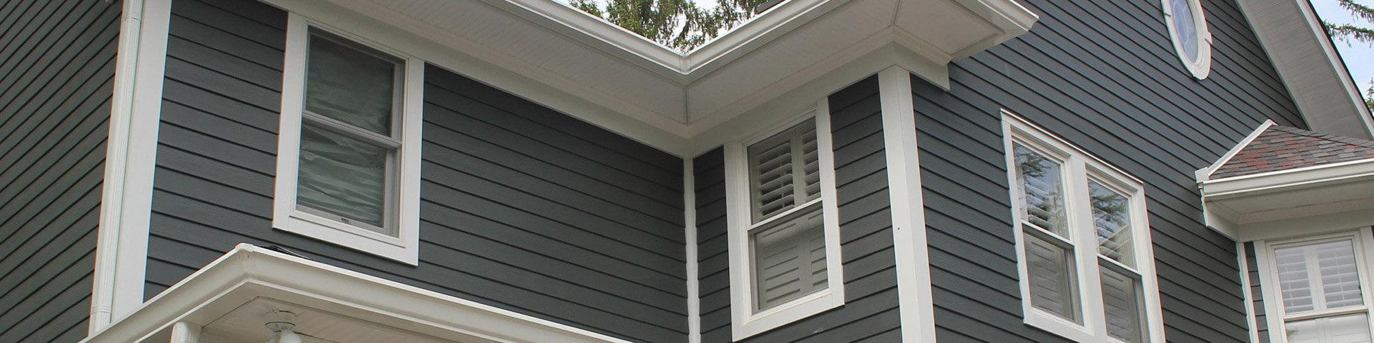 Wooden window installation