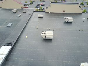 commercial building roof replacement