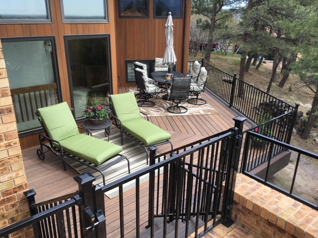 Composite decking in Colorado Springs, Colorado